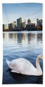 City Swan Beach Towel