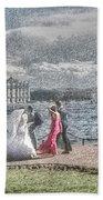 city Weddings Beach Towel