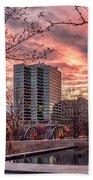 Citygarden Gateway Mall St Louis Mo Dsc01485 Beach Towel