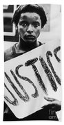 Civil Rights, 1961 Beach Towel
