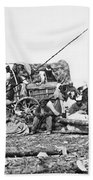 Civil War: Former Slaves Beach Towel