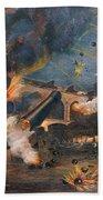 Civil War: Fort Sumter 1861 Beach Sheet