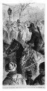 Civil War: Prisoner, 1864 Beach Towel