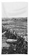 Civil War: Quaker Guns Beach Sheet