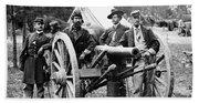 Civil War: Union Officers Beach Towel