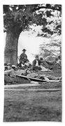 Civil War: Wounded Beach Towel