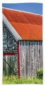 Clapboard House Beach Towel