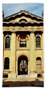 Clarendon Building, Broad Street, Oxford Beach Towel