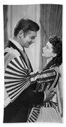 Clark Gable And Vivien Leigh Beach Towel