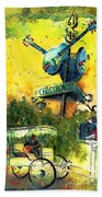 Clarksdale Authentic Madness Beach Towel