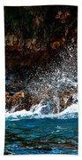Clashing Nature Beach Towel