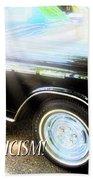 Classic Automobile, Auto Eroticism Beach Towel