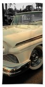 Classic Car Cheve Beach Towel
