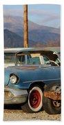 Classic Chevy True Blue Beach Sheet