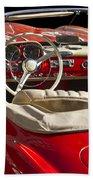 Classic Mercedes Benz 190 Sl 1960 Beach Towel