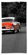 Classic Old Ford Mercury Beach Towel