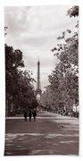 Classic Paris 10 Beach Towel