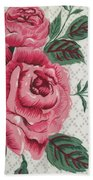 Classic Rose Beach Towel
