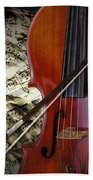 Classical Cello Beach Towel