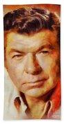 Claude Akins, Vintage Hollywood Actor Beach Towel
