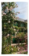 Claude Monets House  - Giverney - France Beach Towel
