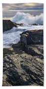 Clearing Storm At Bald Head Cliff Beach Sheet