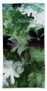 Clematis On The Vine Beach Towel