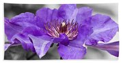 Clematis Beach Towel