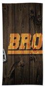 Cleveland Browns Barn Door Beach Towel