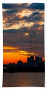 Cleveland Dawn Beach Towel