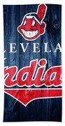 Cleveland Indians Barn Door Beach Towel