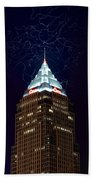 Cleveland Key Building With Electricity Beach Towel