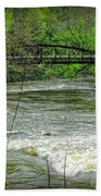 Cleveland Metropark Bridge Beach Towel