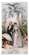 Clevelands Wedding, 1886 Beach Towel