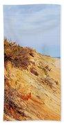 Cliff At Marconi Beach Beach Towel