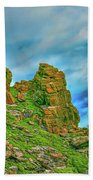Cliff #h0 Beach Towel