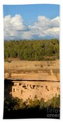 Cliff Palace Landscape Beach Towel