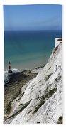 Cliffs At Beachy Head East Sussex Beach Towel