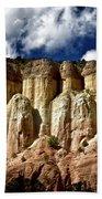 Cliffs At Echo Amphitheater Beach Towel