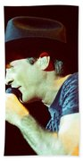 Clint Black-0840 Beach Towel