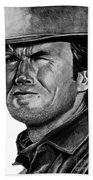 Clint Eastwood Beach Towel