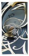 Clockface1  Beach Towel