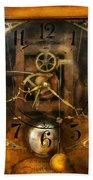 Clockmaker - A Sharp Looking Time Piece Beach Towel