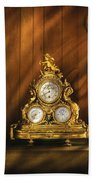 Clockmaker - Clocks Beach Towel