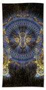 Clockwork Butterfly Beach Towel