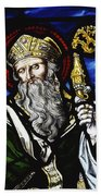 Clogheen, Ireland St. Patrick On Beach Towel