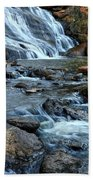 Close Up Of Reedy Falls In South Carolina II Beach Towel