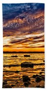 Closing Colors Beach Towel