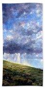 Cloud Burst Ireland Beach Towel