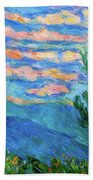 Cloud Color Beach Towel
